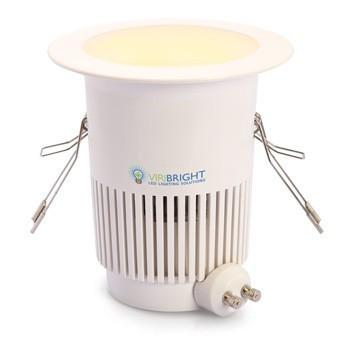 LED Down Light 8W (700Lm) 6000K диммируемая Viribright (Вирибрайт)  GU10,220V,CE