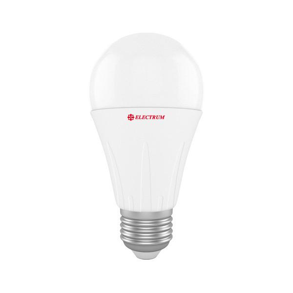 LED лампа E27 12W 4000K (1080 lm) Electrum стандартная PA LS-14 алюпл. корп.