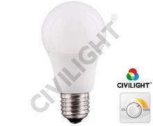 Диммируемая светодиодная лампа E27 11W (810Lm) DA60 K2F60T11CE ceramic dimmable (7308)