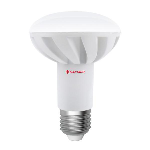 LED лампа Electrum E27 R80 LR-16 10W (860Lm) 4000K алюпласт. корп. A-LR-0886