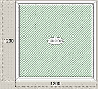 Окна металлопластиковые  Steko Стеко, трёхкамерный профиль, двокамерный стеклопакет, недорого, качественно