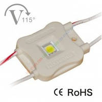 Светодиодный модуль, 0,7W White (50LM) LED  IP65, напряжение DC 12V,