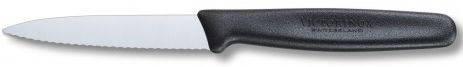Качественный кухонный нож для нарезки фруктов и овощей Victorinox 50633 черный