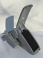 Подлокотник ASP для Ford Focus 2 серый виниловый