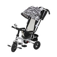 Трехколесный велосипед Mars Mini Trike Zoo надувные колеса LT952-2А (зебра)