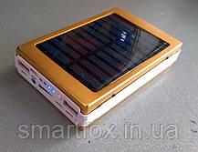 УМБ (Power Bank) 50000mAh (СОЛНЕЧНАЯ БАТАРЕЯ) с фонариком, фото 2