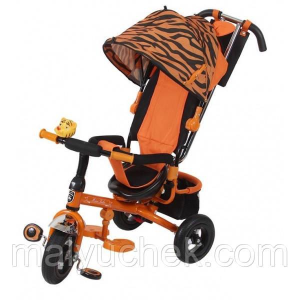 Трехколесный велосипед Mars Mini Trike Zoo надувные колеса LT952-2А (тигр)