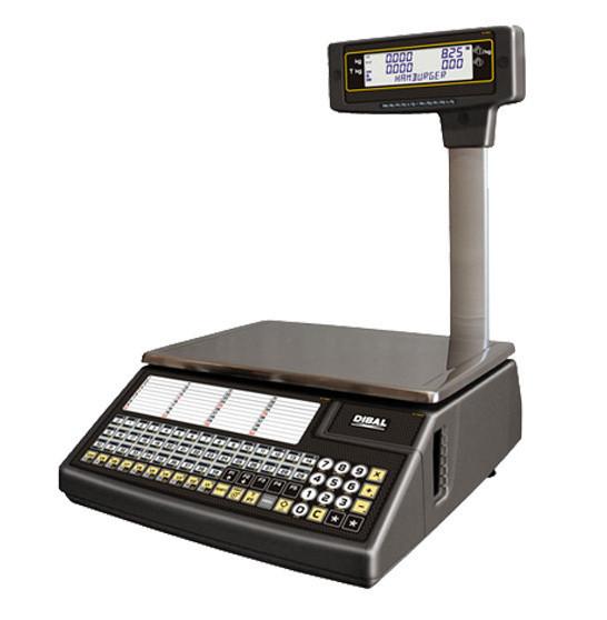 Весы с печатью чека DIBAL W-025 - Компания УкрВесы [Ukrvesi] в Днепре