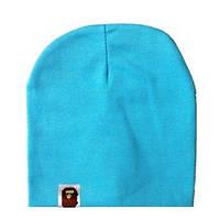Стильная шапочка  Bape Kids цвет голубой