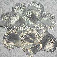 Лепестки розы, серебро, 20шт