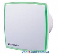 Вентилятор Вентс 100 ЛД Лайт синий зеленый красный