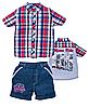 Комплект тенниска с шортами размери от 92 до 116