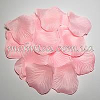 Лепестки розы, розовые, 20шт