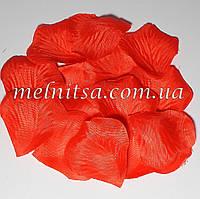 Лепестки розы, красные,  20шт