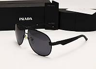 Мужские солнцезащитные очки Prada SPR 29 N цвет черный
