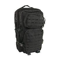 Армейский рюкзак маленький, черный 20 литров