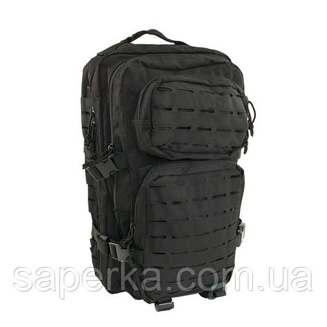 Армейский рюкзак маленький, черный 20 литров , фото 2
