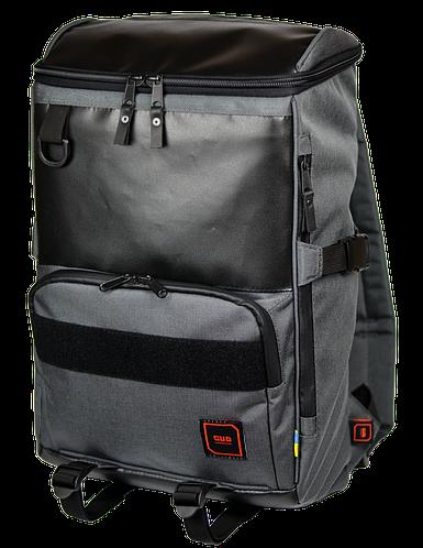 """Городской качественный рюкзак для ноутбука 15"""", 25 л. Gud DART Pack, 502-1 графит"""