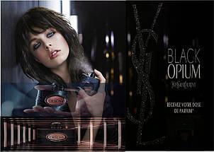 Yves Saint Laurent Black Opium туалетная вода 90 ml. (Ив Сен Лоран Блек Опиум), фото 2