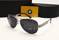 Мужские солнцезащитные очки BMW 603 цвет серый, фото 1