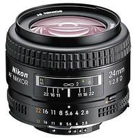 Объектив Nikon AF 24mm f/2.8D (в наличии на складе)