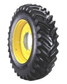 Шини для тракторів 420/90R30 142A8/B Titan High Traction Lug TL