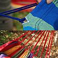 Мексиканский гамак хлопок 200x100 см без перекладины, фото 5