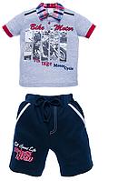 Комплект поло с шортамы размеры от 92 до 116, фото 1