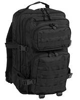 Штурмовой военный рюкзак Assault Pack черный 36 литров, Mil-Teс (Германия)