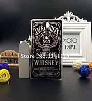 Силиконовый бампер панель накладка чехол для Sony Xperia C2305 Jack Daniels, фото 1