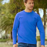 Лонгслив мужской (синего цвета)