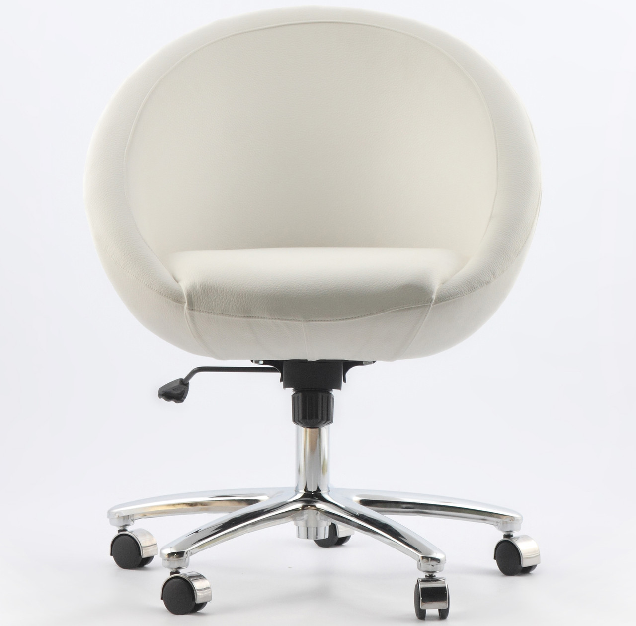Офисное кресло Office Michelle белое кожзаменитель
