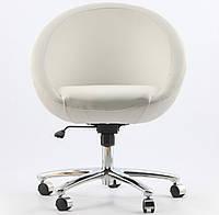 Офисное кресло Lobo Office белое кожзаменитель, фото 1