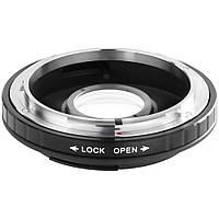 Адаптер Canon FD - Nikon AI с линзой для бесконечности