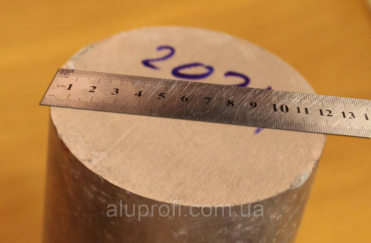 Круг алюминиевый  ф120мм AW-2024 Т351 (Д16Т)