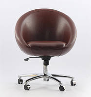 Офисное кресло Office Sancafe (коричневое)