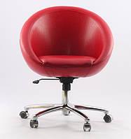 Офисное кресло Office Sancafe (красное)