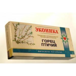 """Свечи Эконики """"Горец птичий"""" (10 шт.)"""