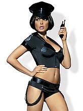 Ролевой костюм Police SET OBSESSIVE размер  S/M арт 0922.