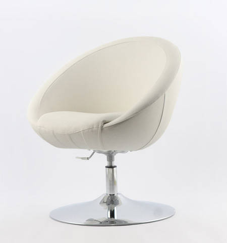 Офисное кресло Lux Michelle (белое)
