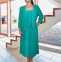 Костюм-двойка: платье+жакет Silvia р 56-58