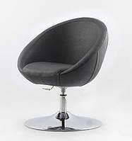 Офисное кресло Lux Michelle черное кожзаменитель