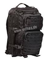 Военный тактический рюкзак Laser Cut, черный 36 литров