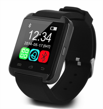 """Умные часы Smart watch U8 Uwatch black черные - Интернет-магазин """"Мобитехника"""" в Киеве"""