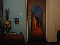"Фото штора ""Арка"". Фрагмент из панорамной фото шторы ""Арка с временами года"". Материал блэкаут"