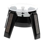 Демонстрационный вращающийся столик на солнечной батарее черный, фото 5
