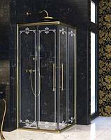 Двухсекционная раздвижная дверь для углового входа 100x100 см Huppe Enjoy Victorian EV0102