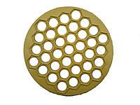 Форма для пельменей пластмассовая круглая