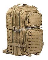 Рюкзак армейский тактический Mil-tec Laser Cut, Кайот 36 литров