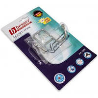 Крючок для полотенец 10*3.5*7 см Двойной  хромированный Kamille   0151
